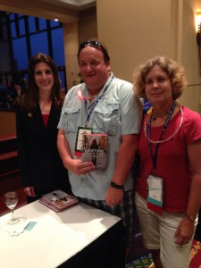Jim and wife Joanne with 2014 NAIFA National Conference Main Platform Speaker and future Real Wealth guest, Maria Ferrante-Schepis