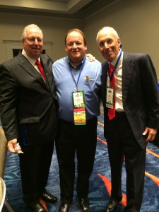 Jim with Van Mueller, Real Wealth and Power Session LIVE guest, and Paul Karasik at the 2014 NAIFA National Conference in San Diego