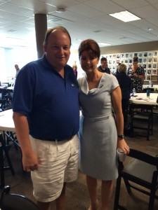 Jim with Rebecca Kleefisch, Lt. Governor of Wisconsin, at a local networking event in Milwaukee.