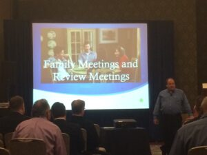 Jim presenting The Family Meeting at the 2014 NAIFA National Conference in San Diego