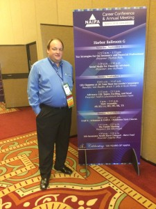 Jim after doing his breakout session on The Family Meeting at the 2014 NAIFA Conference in San Diego